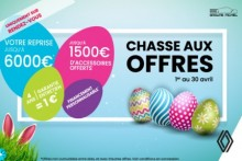 CHASSE AUX OFFRES RENAULT